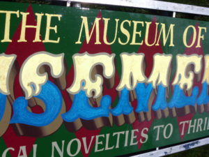 Traditional Sign Written Fairground Signs