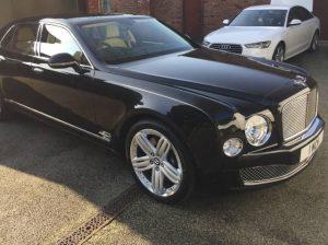 Bentley 'Mulsanne' - Freehand Pinstriping