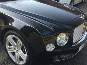 Bentley 'Mulsanne' - Freehand Pinstriping