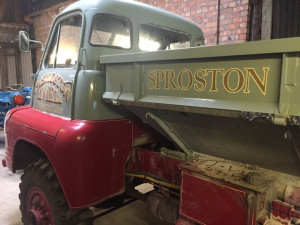 Sign Painted Truck