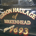Gibson Haulage Bedford Truck