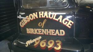 Gibson Haulage Bedford Truck