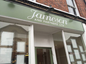 Jameson and Partners Shop Front