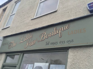 Little Hair Boutique shop front