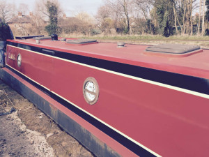 LMS narrowboat
