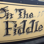 On the fiddle signwritten narrowboat