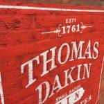 Thomas Dakin Wall Mural