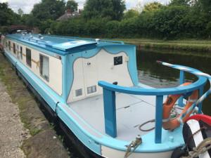 Knot HRD Work Narrowboat