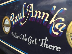 Paul Ann' Ka narrowboat