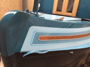 Graymar narrowboat artwork