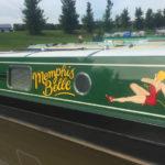 Memphis Belle narrowboat