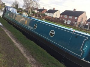 Greyhound Narrowboat