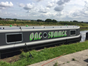 One Summer Narrowboat