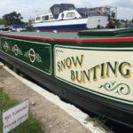 Snow Bunting narrowboat