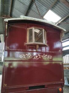 Handpainted Showman's Wagon